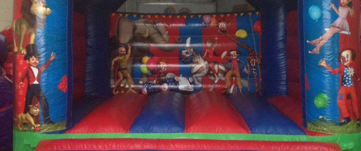 Circus Bouncy Castle, Renishaw, Sheffield