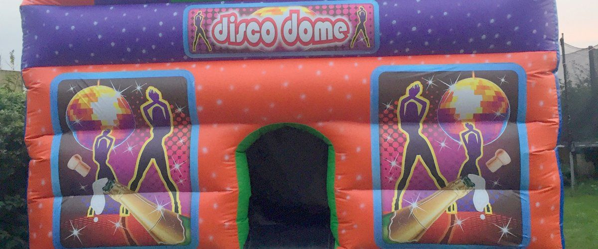 Inflatable Disco Dome, Renishaw Sheffield