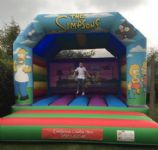 Simpsons Bouncy Castle